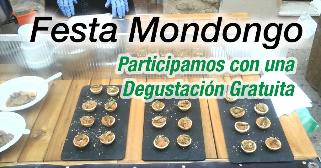 Festa del Mondongo de Bot en la Terra Alta. Degustación de Sobrasada Vegetal y Fricandó de seitan y setas